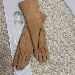 Vintage Christian Dior sheepskin gloves